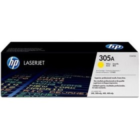 Hewlett Packard 305A, yellow
