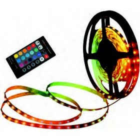 Outdoor LED-Stripe, l: 5 Meter, 150 x RGB LED, inkl. Farbwechsler